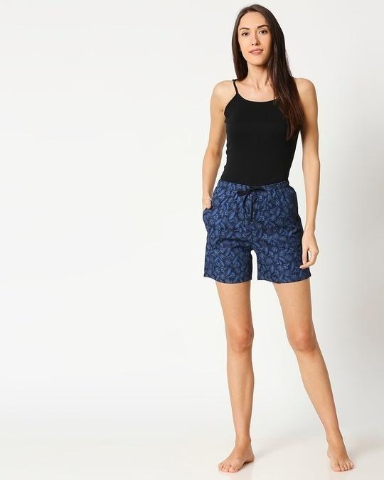 Shop Blue Forest Women's Boxer Shorts
