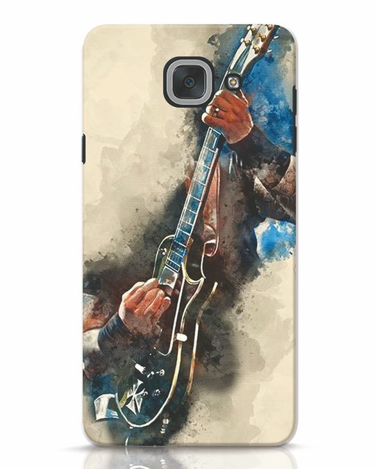 Shop Blue Guitar Samsung Galaxy J7 Max Mobile Cover-Front