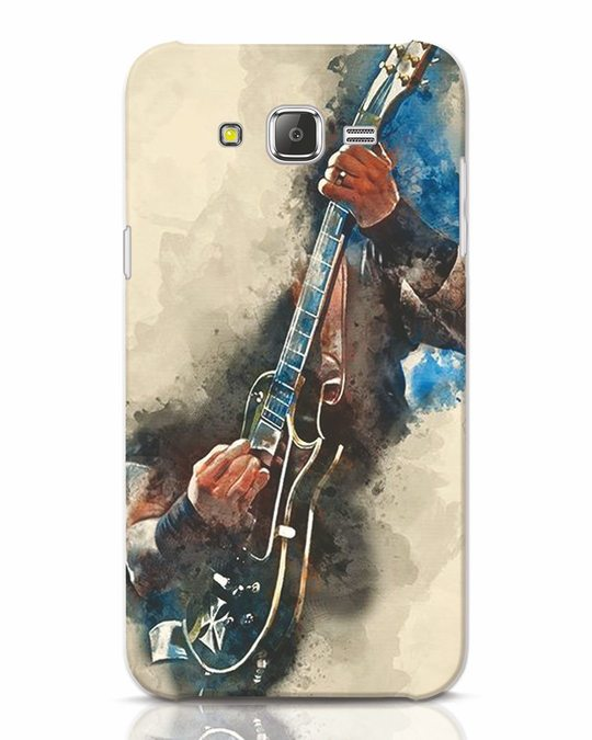 Shop Blue Guitar Samsung Galaxy J7 Mobile Cover-Front
