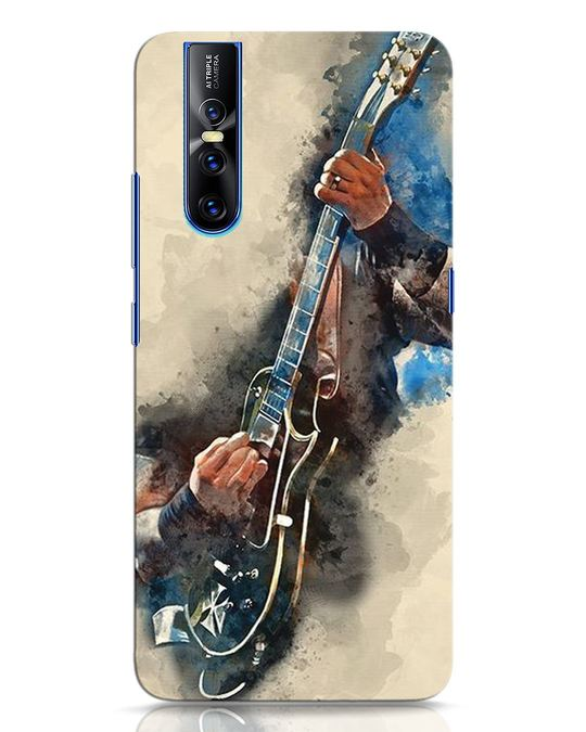 Shop Blue Guitar Vivo V15 Pro Mobile Cover-Front