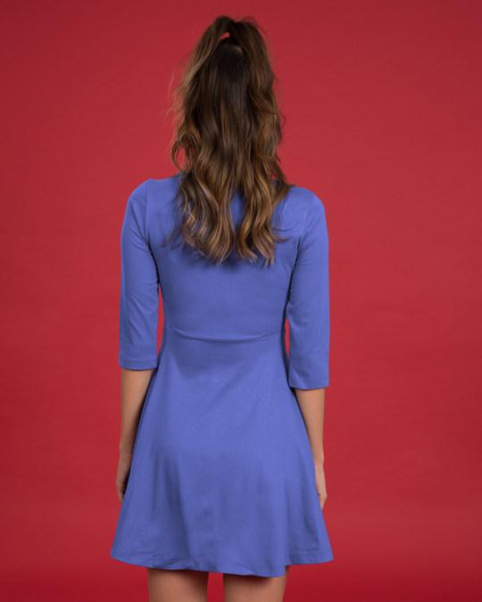Shop Blue Haze Flared Dress-Design