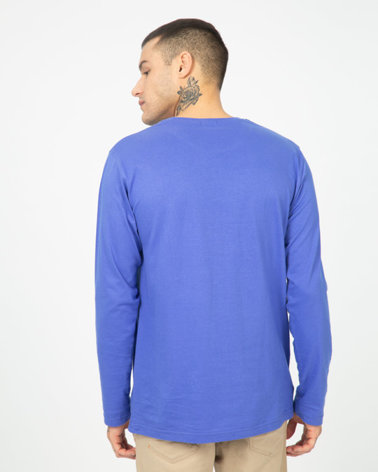 Shop Blue Haze Full Sleeve T-Shirt