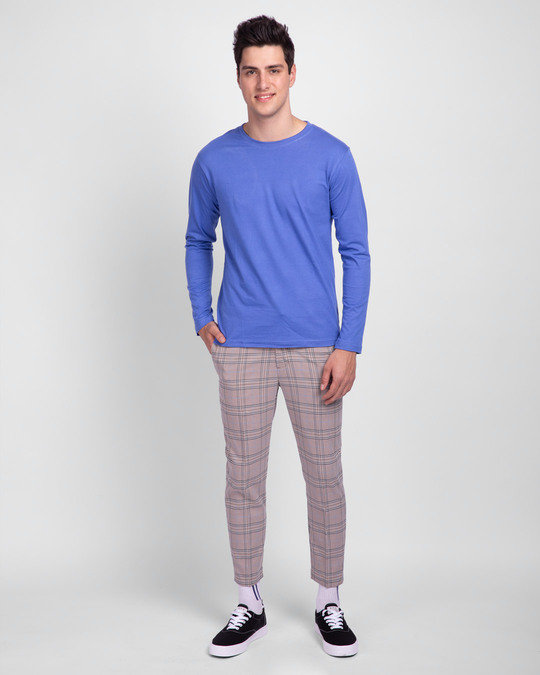 Shop Blue Haze Full Sleeve T-Shirt-Full