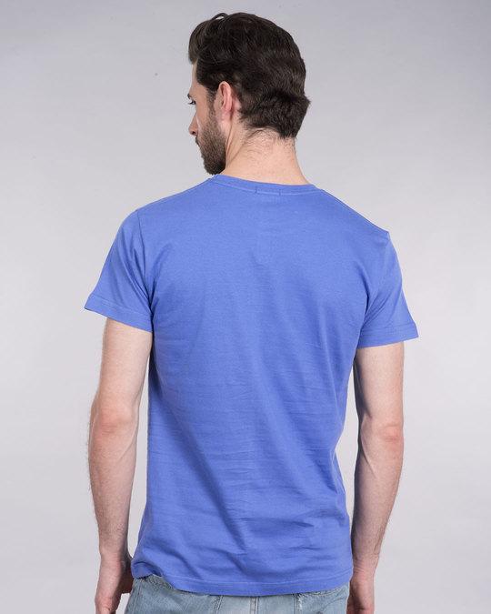 Shop Blue Haze Half Sleeve T-Shirt-Full