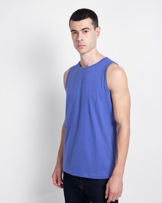 Shop Blue Haze Vest-Back