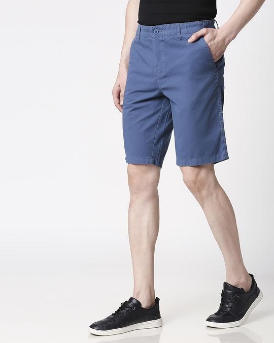 Shop Cool Blue Men's Shorts-Design