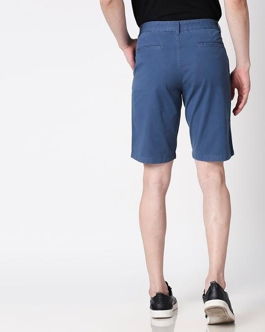 Shop Cool Blue Men's Shorts-Full