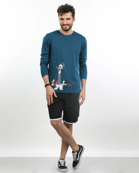 Shop Blues Full Sleeve T-Shirt-Full