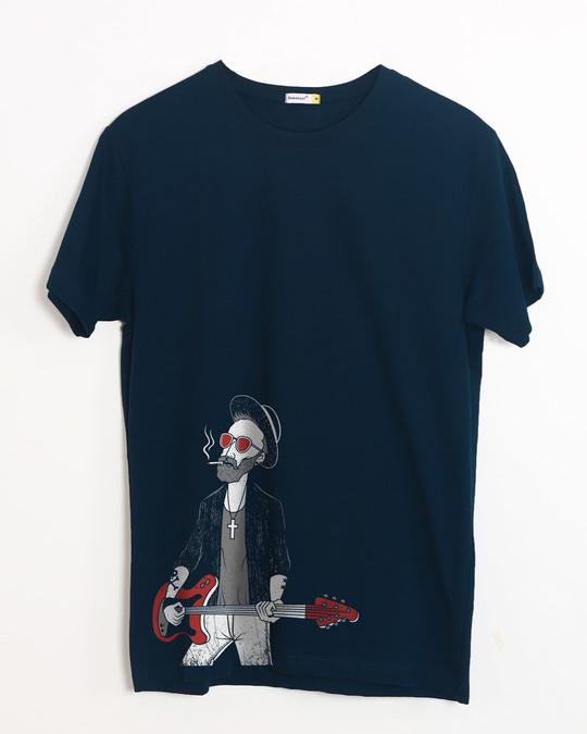 Shop Blues Half Sleeve T-Shirt-Front