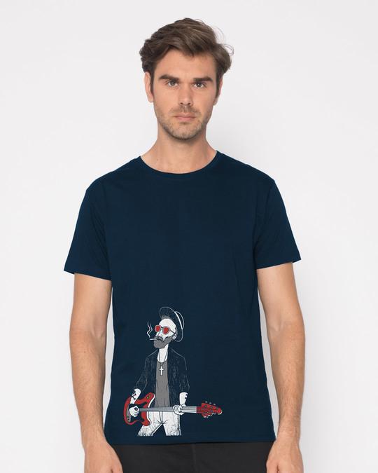 Shop Blues Half Sleeve T-Shirt-Back