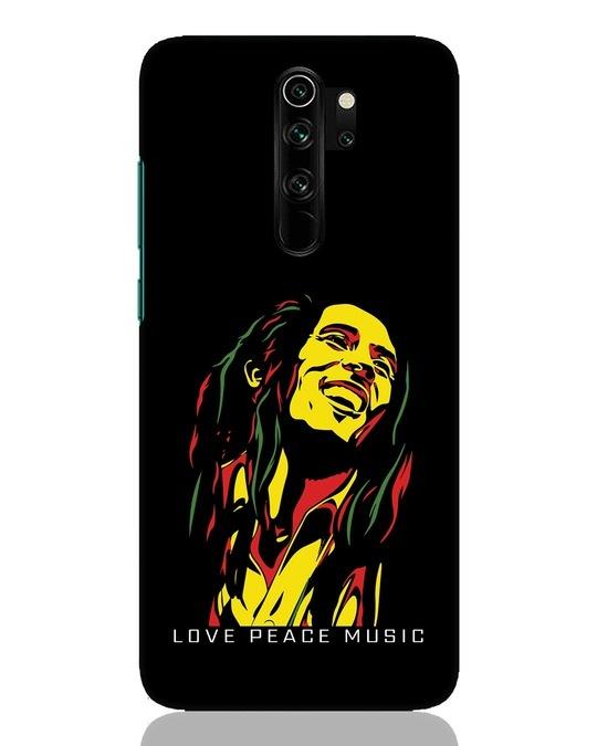 Shop Bob Peace Music Xiaomi Redmi Note 8 Pro Mobile Cover-Front