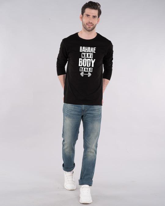 Shop Body Banao Full Sleeve T-Shirt-Full