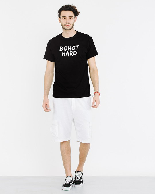 Shop Bohot Hard Half Sleeve T-Shirt