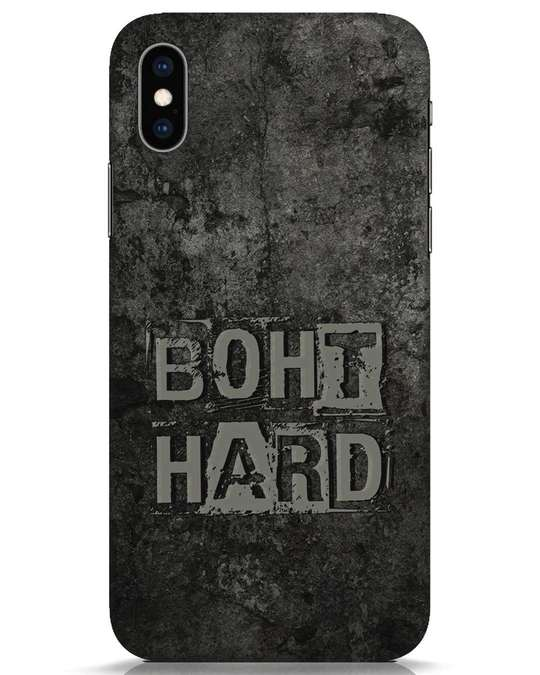 Shop Boht Hard iPhone XS Mobile Cover-Front