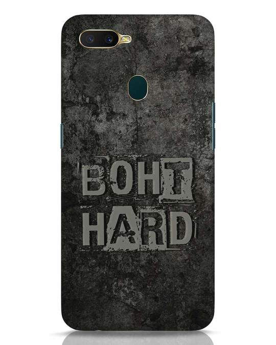 Shop Boht Hard Oppo A7 Mobile Cover-Front