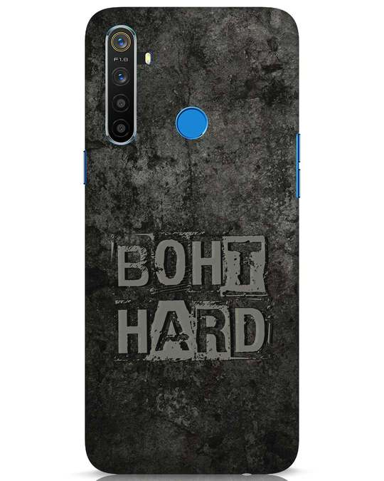Shop Boht Hard Realme 5 Mobile Cover-Front