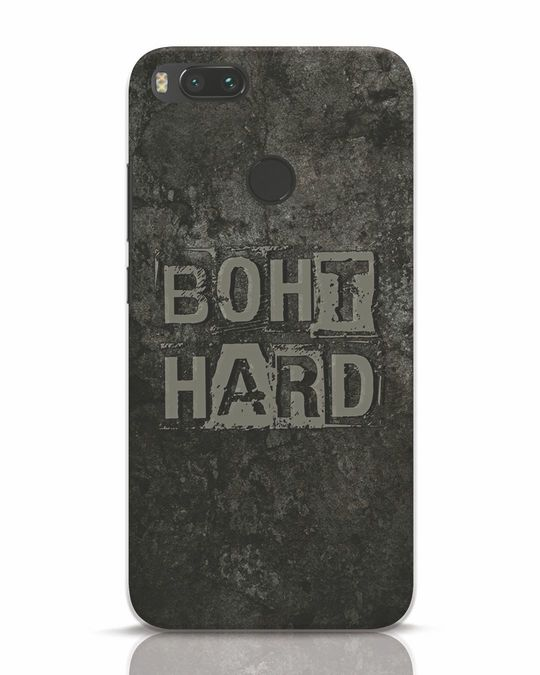 Shop Boht Hard Xiaomi Mi A1 Mobile Cover-Front