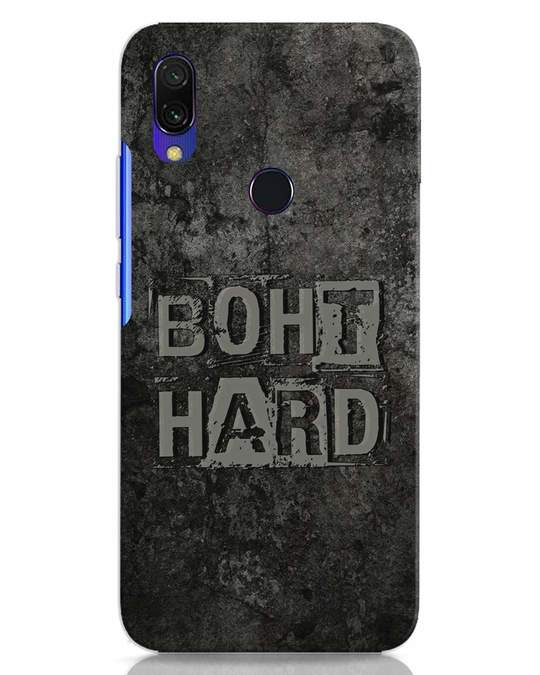 Shop Boht Hard Xiaomi Redmi 7 Mobile Cover-Front