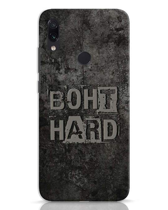Shop Boht Hard Xiaomi Redmi Note 7 Pro Mobile Cover-Front