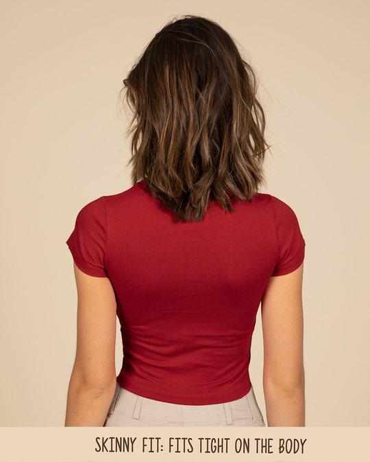 Shop Bold Red Crop Top