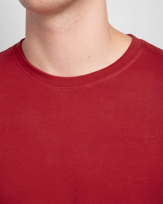 Shop Bold Red Full Sleeve T-Shirt