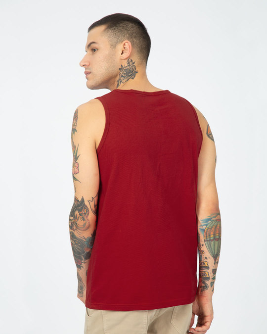 Shop Bold Red Vest