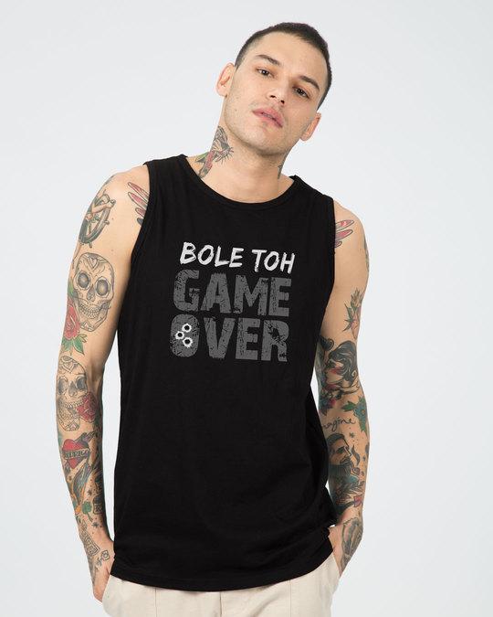 Shop Bole Toh Game Over Vest-Front