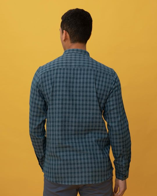 Shop Bondi Blue Checked Shirt-Design