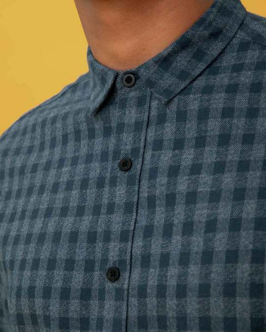 Shop Bondi Blue Checked Shirt