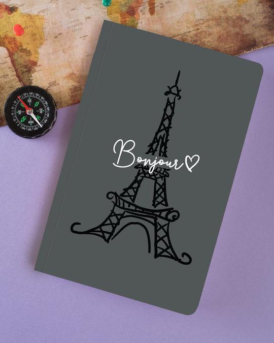 Shop Bonjour Paris Notebook-Full
