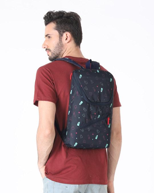 Shop Boo All Over Printed Mini Backpack