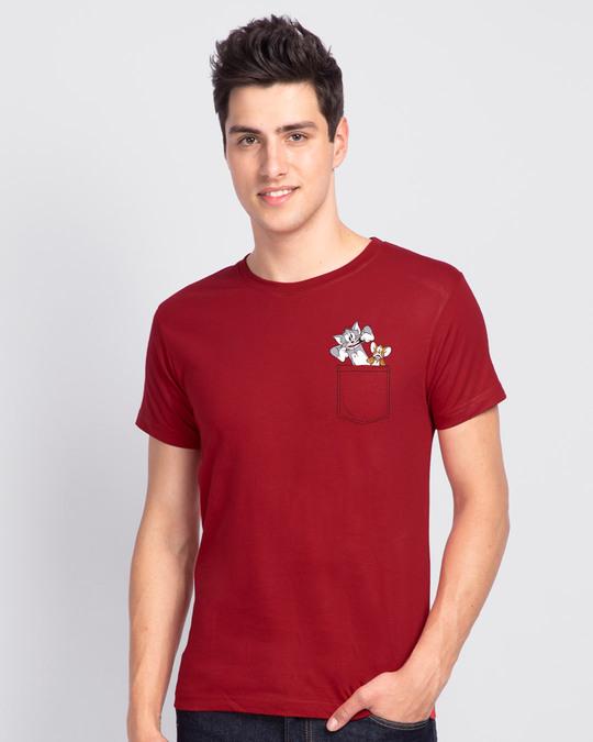 Shop Boo TNJM Half Sleeve T-Shirt (TJL)-Back