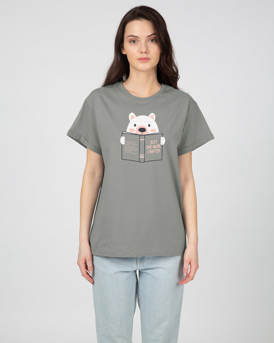 Shop Book Bear Boyfriend T-Shirt-Full