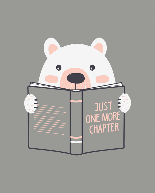 Shop Book Bear Boyfriend T-Shirt