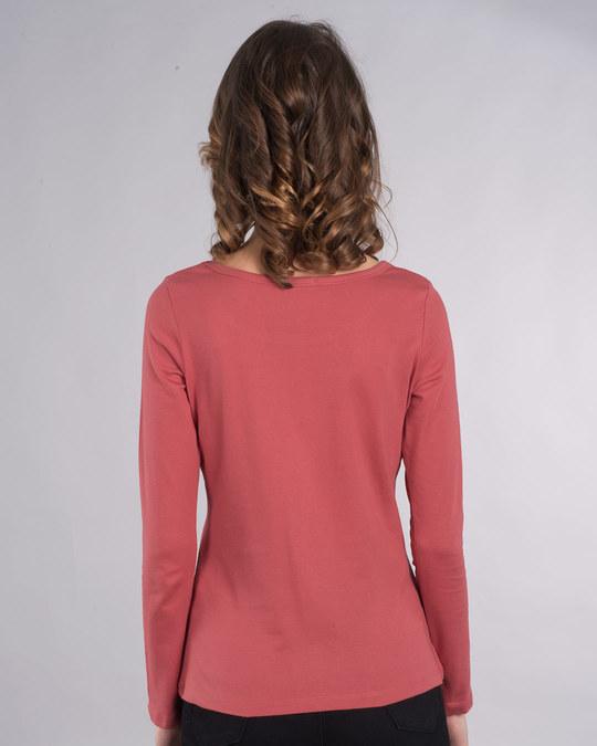 Shop Book Bear Scoop Neck Full Sleeve T-Shirt-Back