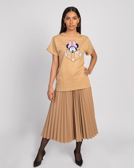 Shop Book Minnie Boyfriend T-Shirt (DL)-Design