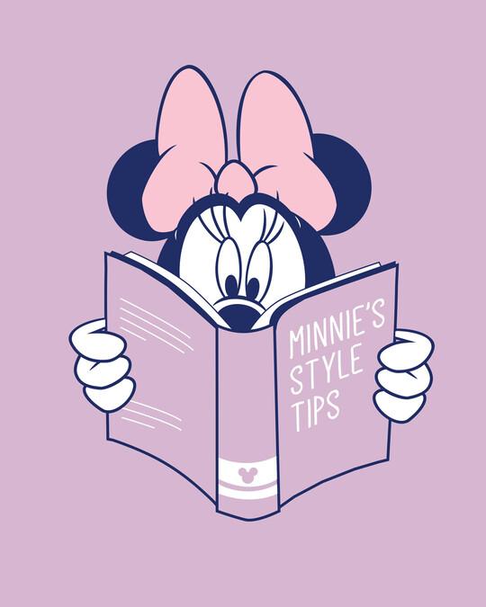 Shop Book Minnie Half Sleeve T-Shirt (DL)-Full