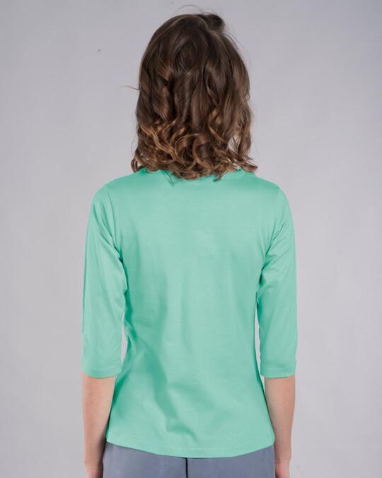 Shop Book Minnie Round Neck 3/4th Sleeve T-Shirt (DL)-Back