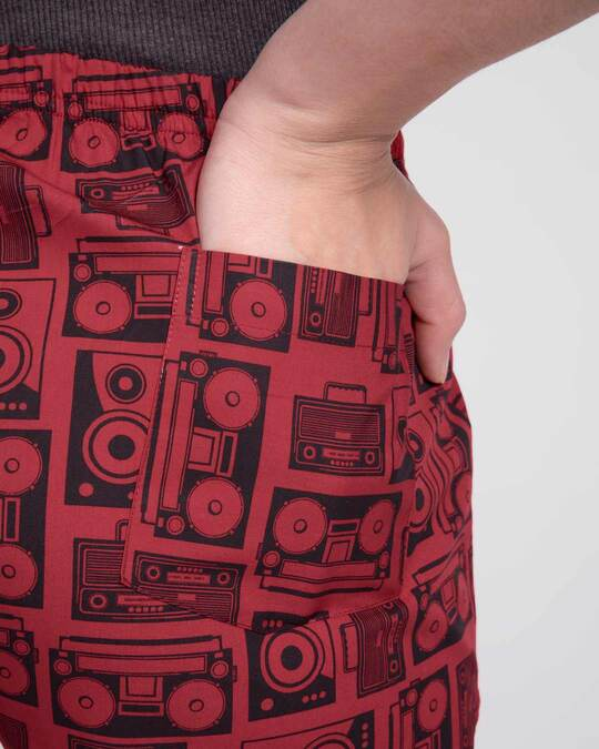 Shop Boomboxes All Over Printed Boxer