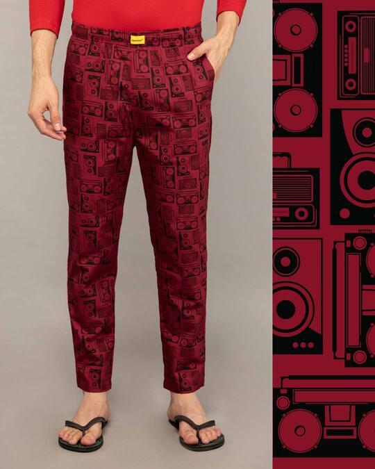 Shop Boomboxes Poplin Pyjama-Front