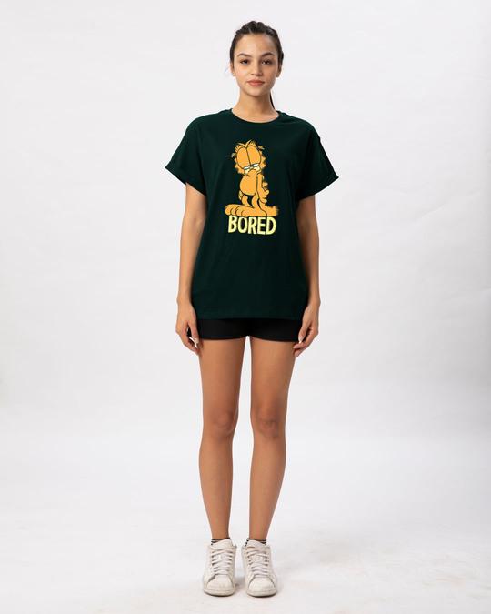 Shop Bored Cat Boyfriend T-Shirt (GL)