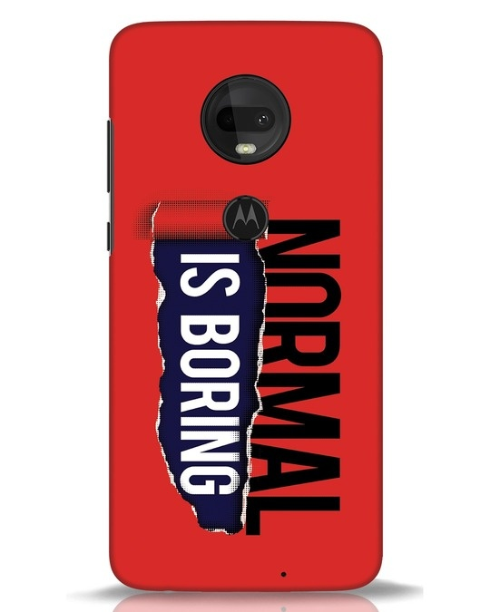 Shop Boring Normal Moto G7 Mobile Cover-Front