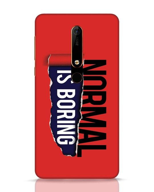 Shop Boring Normal Nokia 6.1 Mobile Cover-Front
