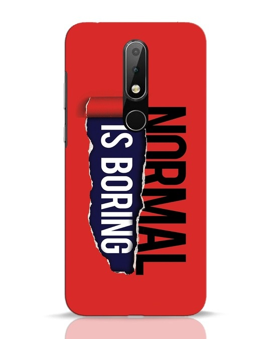 Shop Boring Normal Nokia 6.1 Plus Mobile Cover-Front