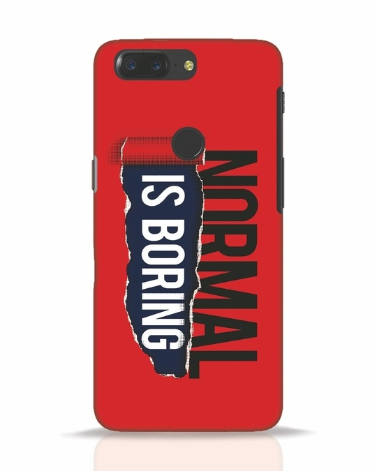Shop Boring Normal OnePlus 5T Mobile Cover-Front