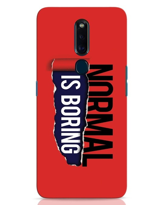 Shop Boring Normal Oppo F11 Pro Mobile Cover-Front
