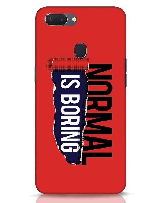 Shop Boring Normal Realme 2 Mobile Cover-Front
