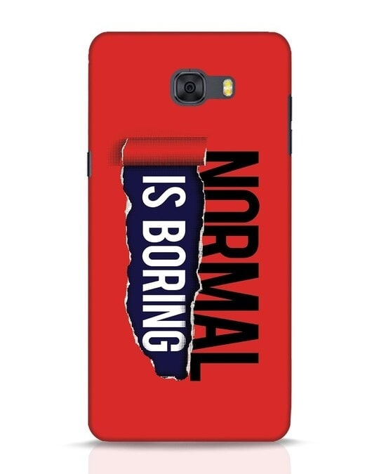 Shop Boring Normal Samsung Galaxy C9 Pro Mobile Cover-Front