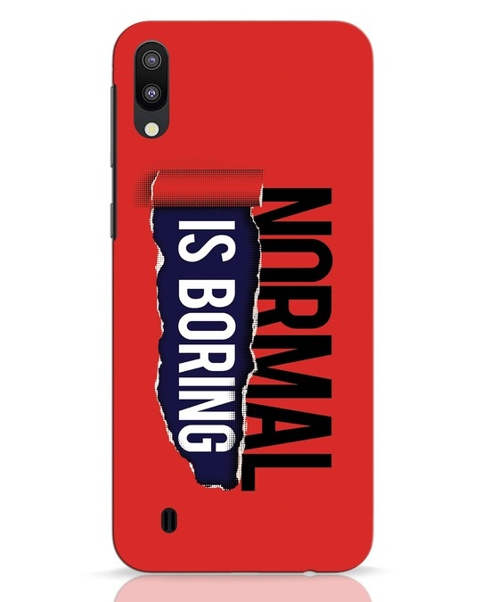 Shop Boring Normal Samsung Galaxy M10 Mobile Cover-Front