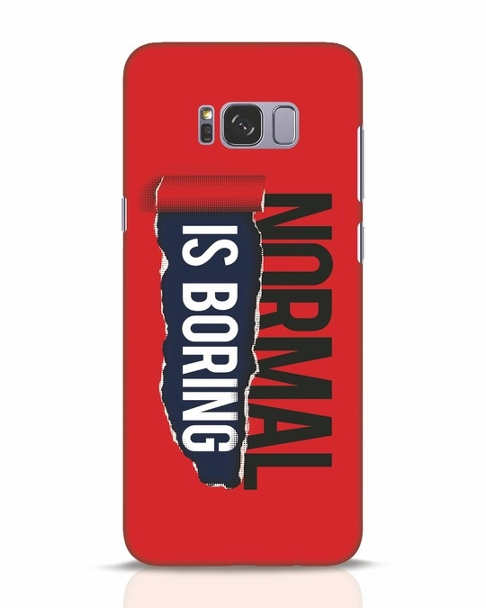 Shop Boring Normal Samsung Galaxy S8 Plus Mobile Cover-Front
